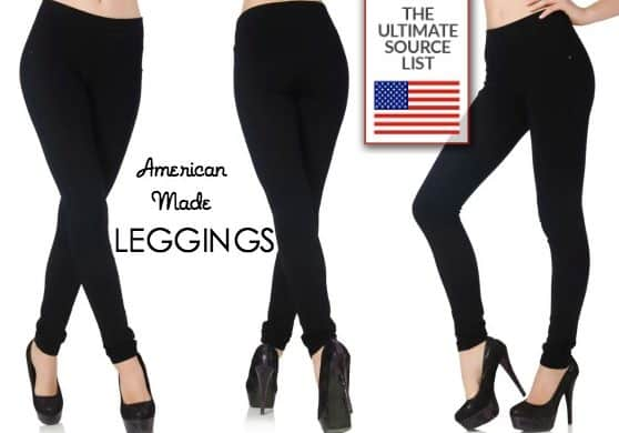 American Made Leggings Source Guide