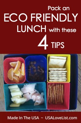 Tips on packing an Eco friendly lunch