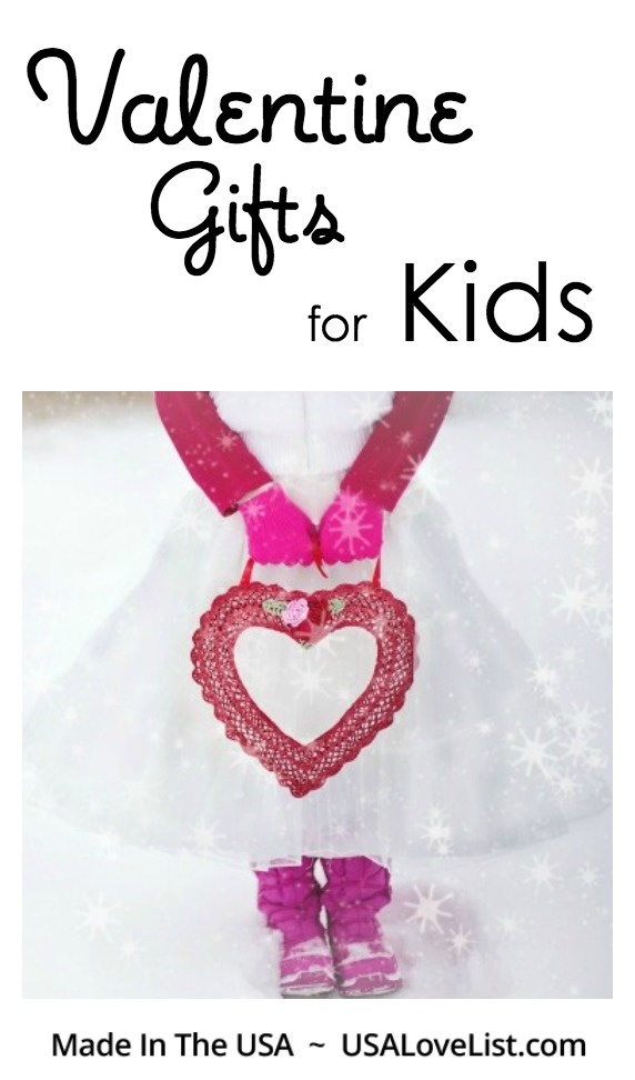 Valentine Gifts for Kids made in the USA