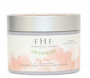 FarmHouse Fresh Organics Whipped Shea Butter Body Polish