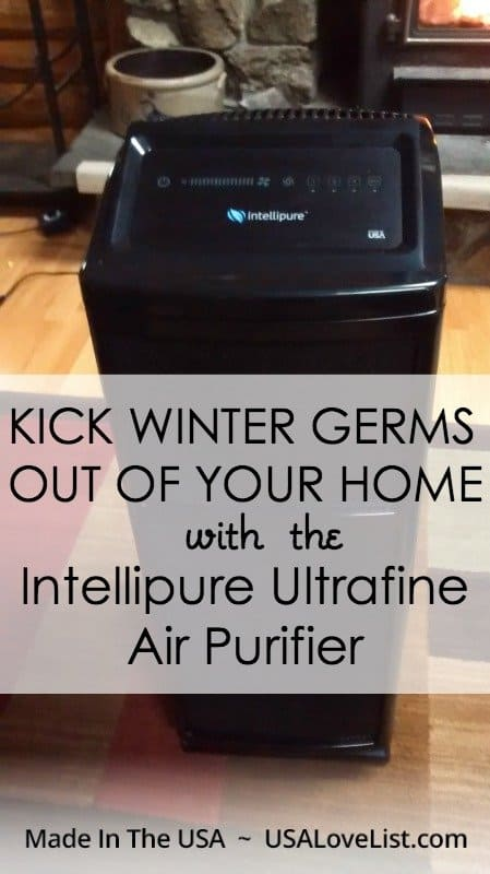 Kick winter germs out of your home with the Intellipure Ultarafine Air Purifier