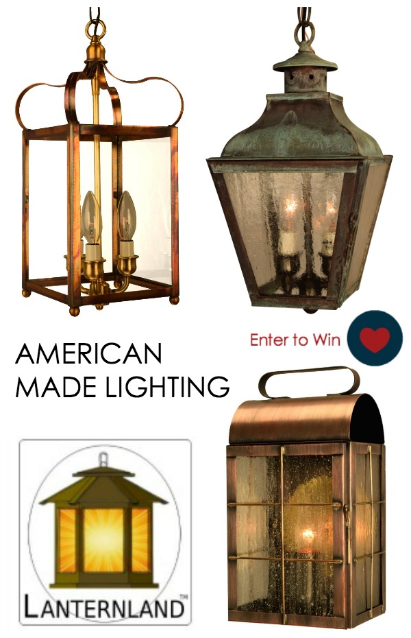 LANTERNLAND INDOOR AND OUTDOOR LIGHTING MADE IN USA