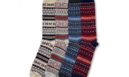 Giveaway: Ladies Fair Isle Socks in Merino & Cashmere from American Trench