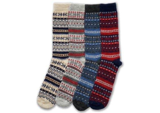Giveaway: Ladies Fair Isle Socks in Merino & Cashmere from ...