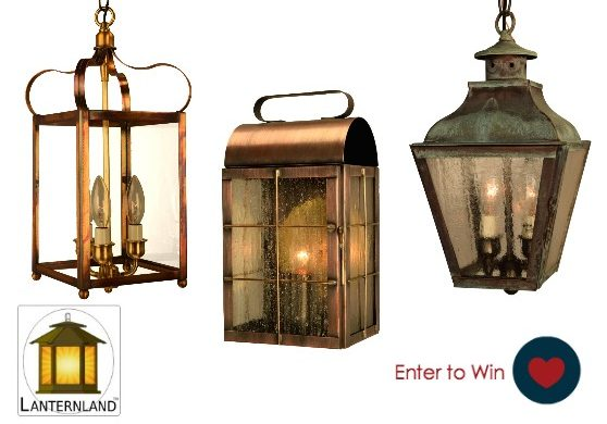Lanternland giveaway- American made lighting