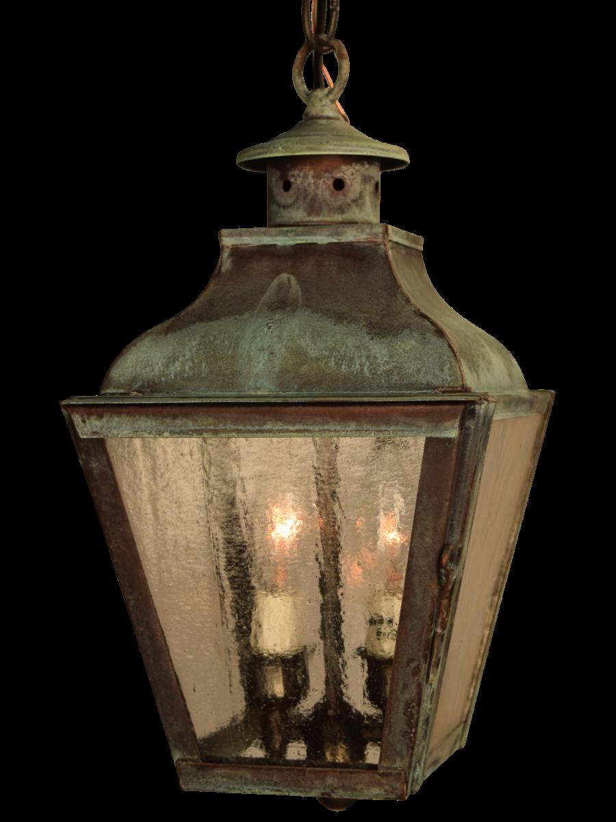 Lanternland outdoor & indoor lighting : Portland Pendant, handcrafted in Arizona