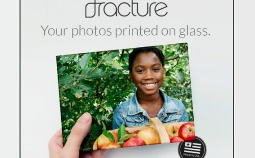 fracture photos printed on glass