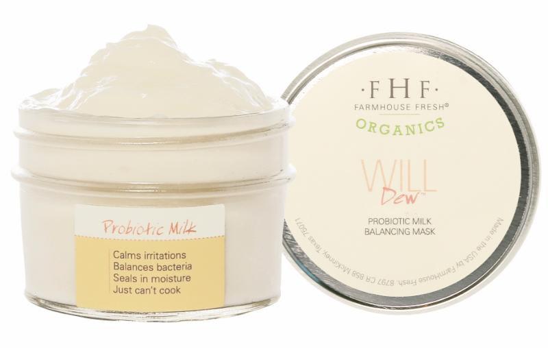 Farmhouse Fresh Organic WillDew Milk Mask