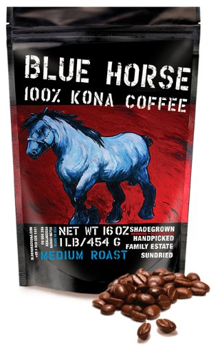 Blue Horse 100% Kona Coffee - Things We Love, Made in Hawaii