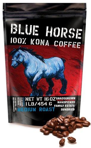 Blue Horse 100% Kona Coffee - Things We Love, Made in Hawaii
