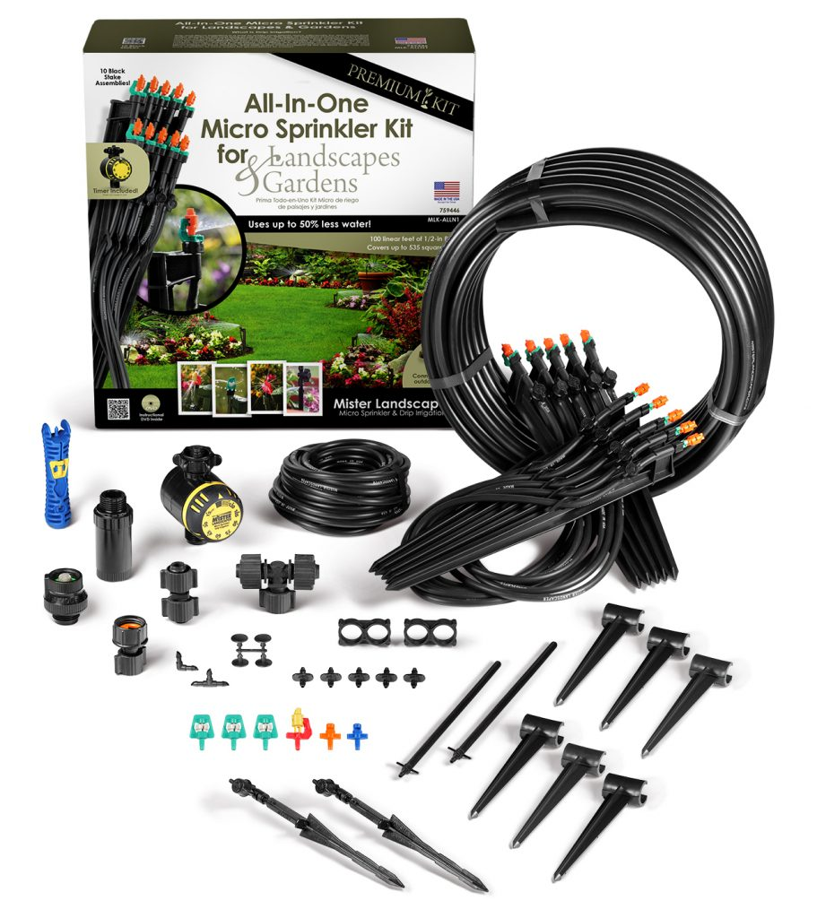 Mister Landscaper All-in-One Micro Sprinkler Kit - 20% off code LOVEUSA1