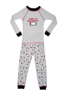 Made in USA pajamas for kids by Brian the Pekingese