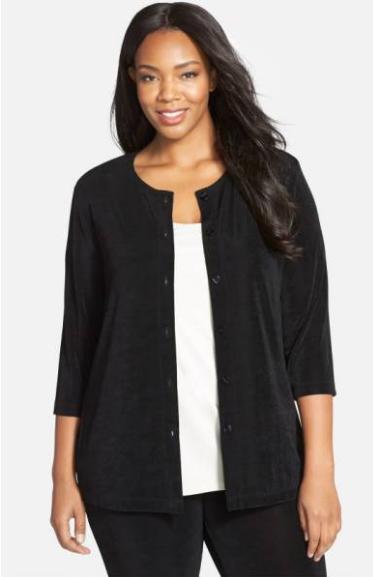 Sweaters we love: Vikki Vi black cardigan