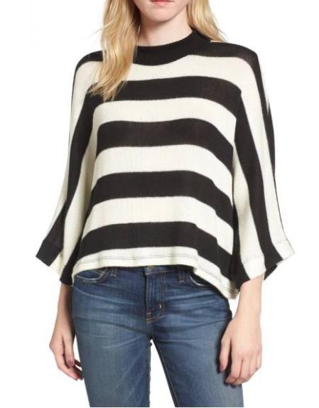 Sweaters we love: Splendid bell sleeve stripes