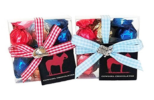 Cowgirl Chocolates Made in Idaho #usalovelsited