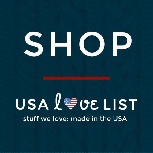 SHOP USA Love List's Made in USA Shopping District