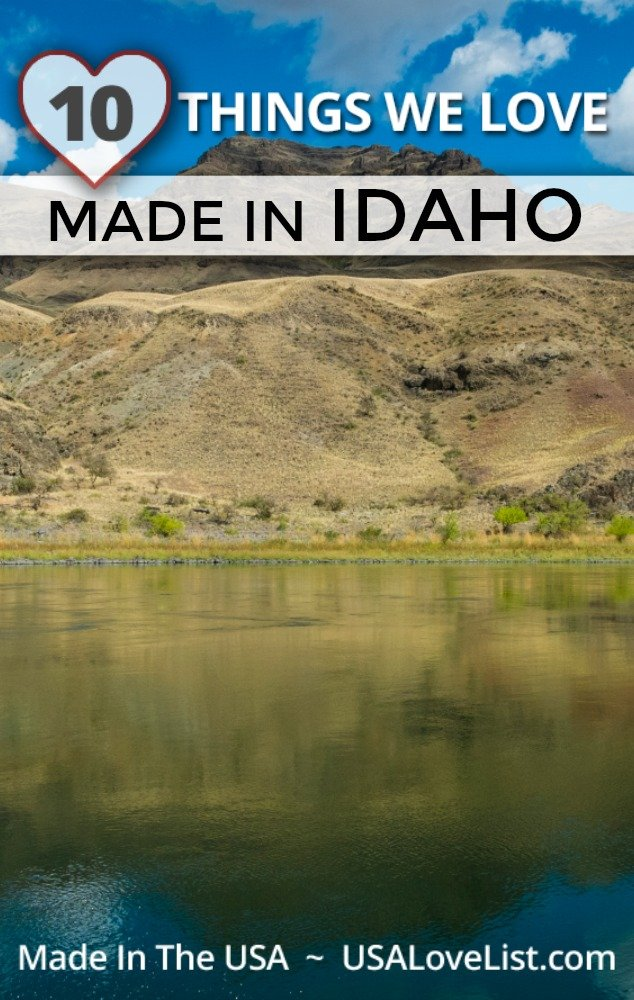 Products we love made in Idaho #usalovelisted #madeinidaho