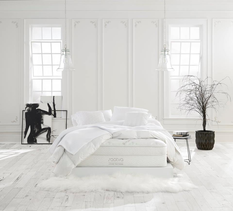 Saatva affordable luxury innerspring mattresses, made in USA
