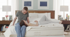 Saatva affordale luxury innerspring mattresses, made in USA