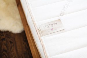 Zenhaven natural laytex mattresses with organic wool and organic cotton, made in USA