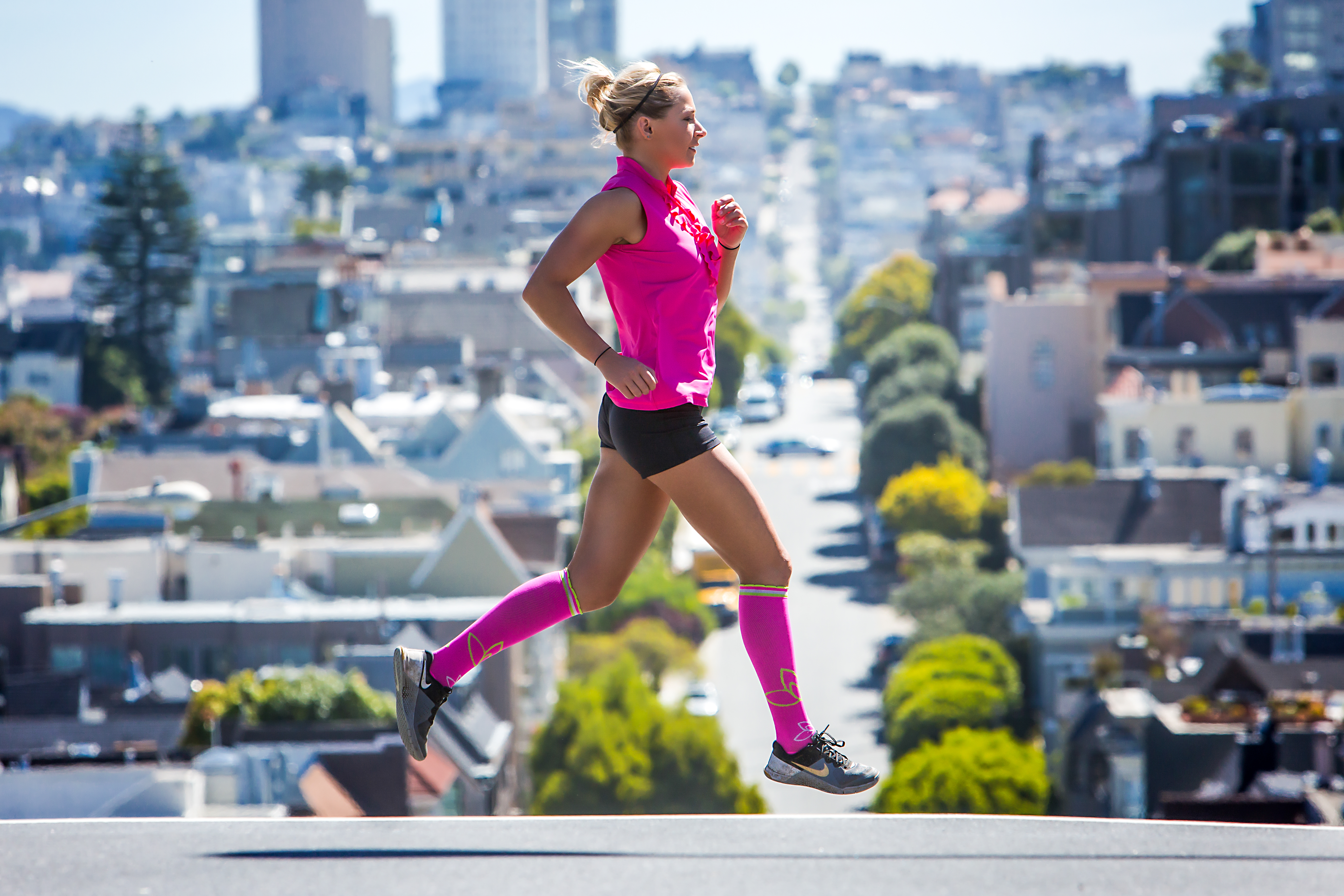 American Made Fashion Compression Socks from Lily Trotter - Save 25% off with code USALOVE