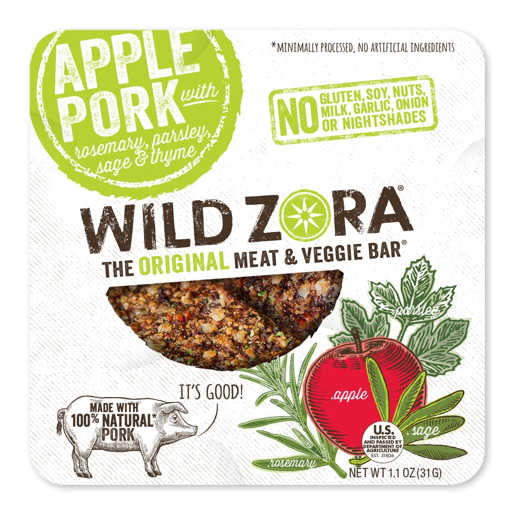 Gluten-, Soy-, Dairy, Grain-Free, Whole30 Approved Paleo Friendly Meat and Veggie Bars From Wild Zora | Made in Colorado