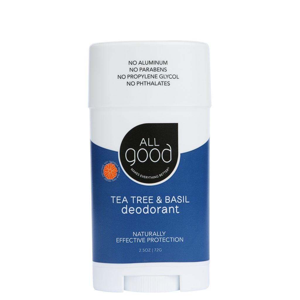 Best Natural Deodorant: Baking Soda Free and Organic Natural Deodorant from All Good #organic #naturalskincare #usalovelisted #madeinUSA