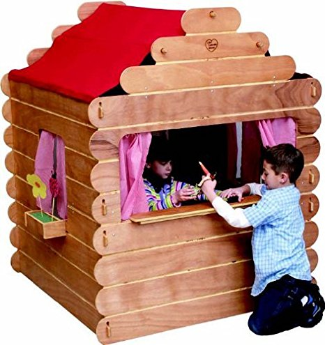 Little Colorado Log Cabin for Kids Play - Made in USA