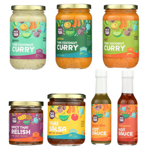 Whole30 Approved Sauces and Salsa from Yai's Thai #whole30 #usalovelisted