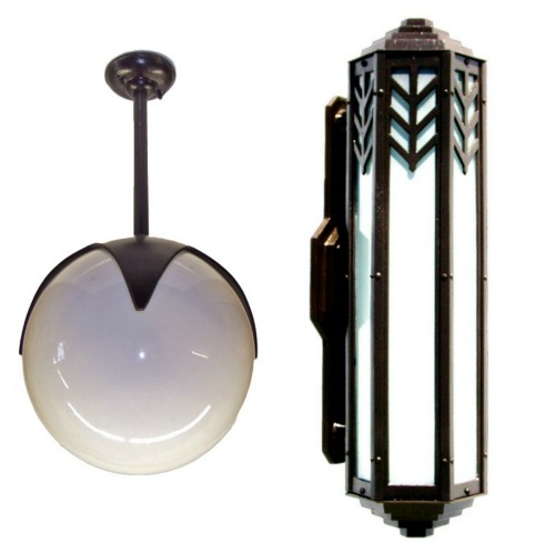 American Made LIghting by Herwig Lighting #lighting #madeinUSA #usalovelisted #vintage