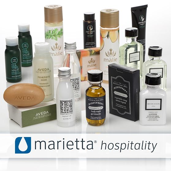 Marietta Hospitality Personal Care Hotel Ammenities Made in the USA