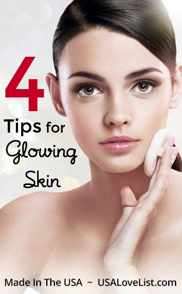 Tips for Glowing Skin #skincare #glow