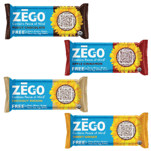 Zego Organic Seed and Fruit Bars - Nut, Dairy and Gluten Free