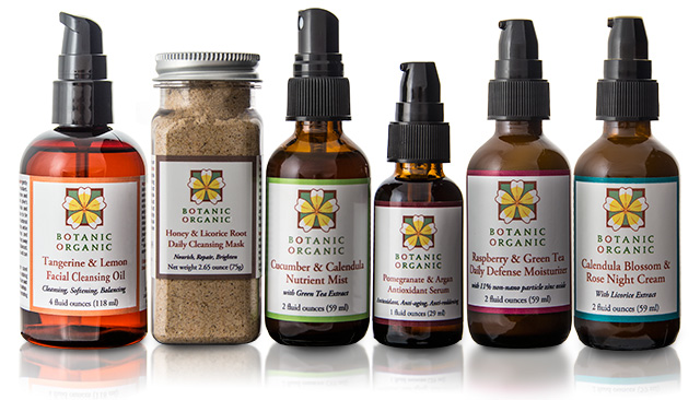 Botanic Organic plant based skincare | Facial Products for Sensitive and Aging Skin