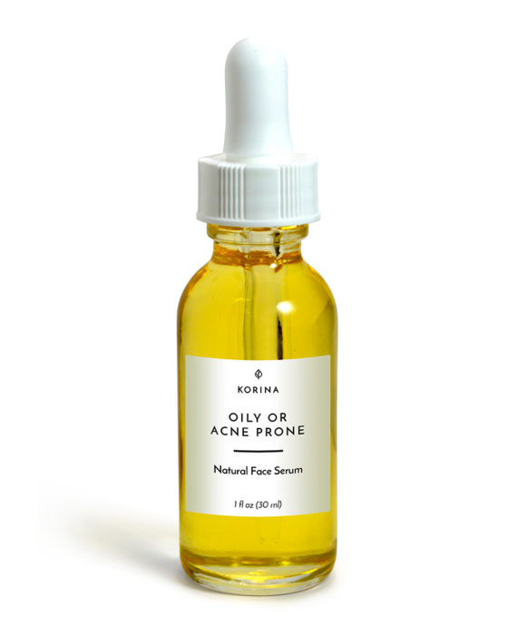 Korina Naturals Face Serum for Oily and Acne Prone Skin