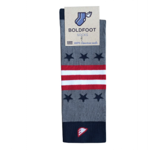 American Made Gifts for Him under $100: Boldfoot socks Sock of the Month club #usalovelisted #giftsforhim