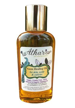 Vegan and Organic Healing Facial Oil From Athara Pure