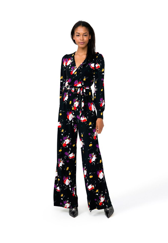 American made gifts for the fashionista: Leota - Floral Jumpsuit