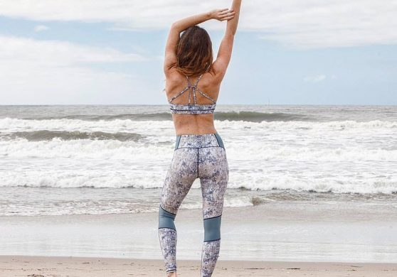 American Made Yogawear - Cotton Yoga Leggings from Electric & Rose Clothing
