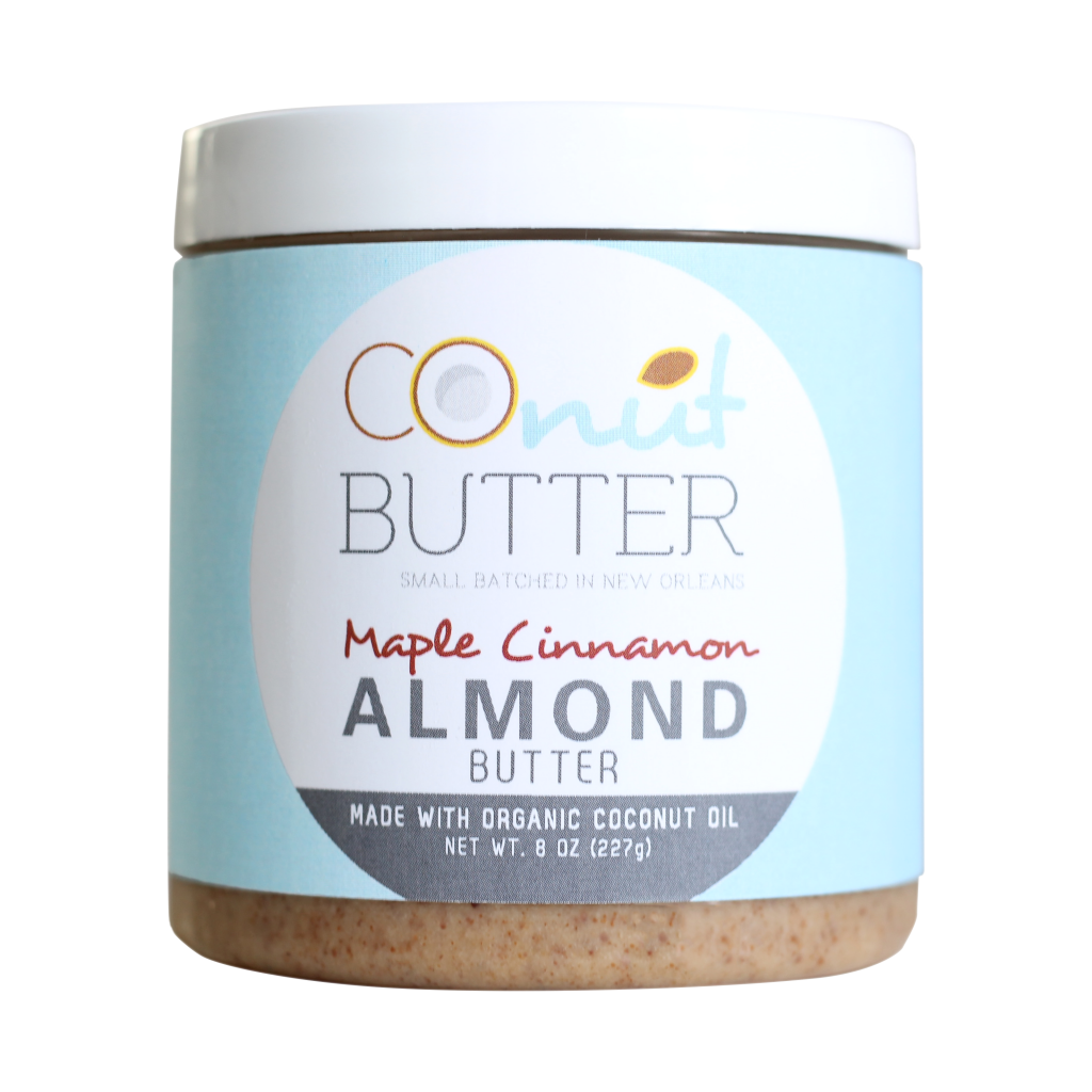 CoNut Butter Maple Cinnamon Almond Butter - Paleo Friendly Nut Butter