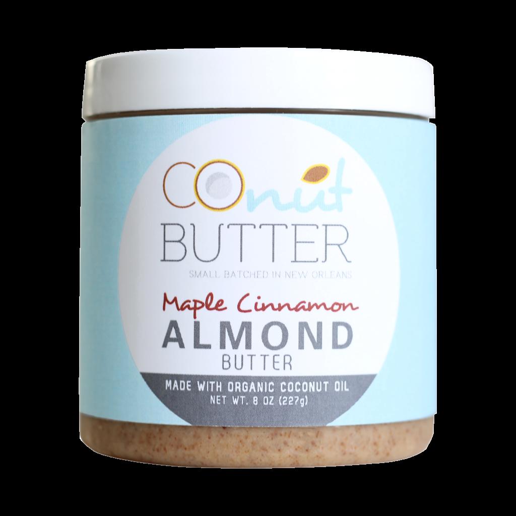 CoNut Butter Maple Cinnamon Almond Butter - Paleo Friendly Nut Butter
