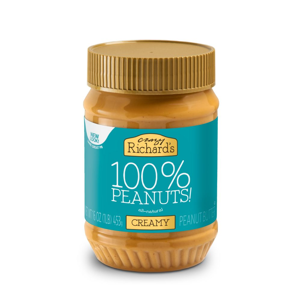 Crazy Richard's 100% Natural and Creamy Peanut Butter