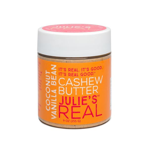 Julies Real Coconut Cashew Butter - Paleo Friendly and Gluten Free