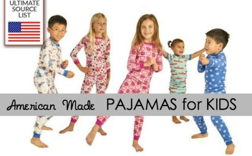 American Made Children's Pajamas: Ultimate Source List