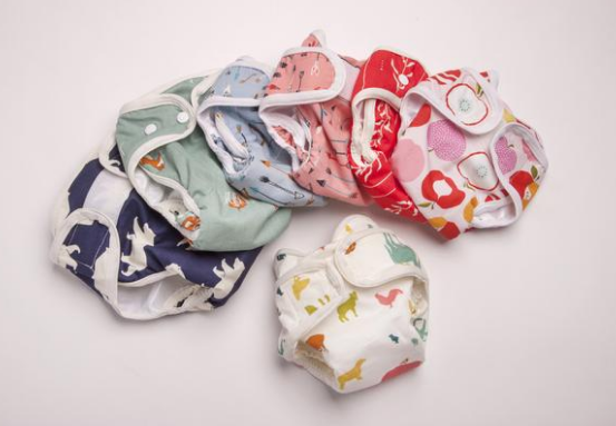 American made baby products: Organic cloth diaper covers from Enchanted Slumber | Made in USA
