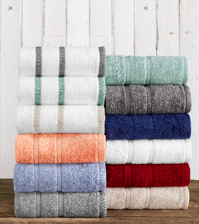 American Craft luxury cotton towels by 1888 Mills