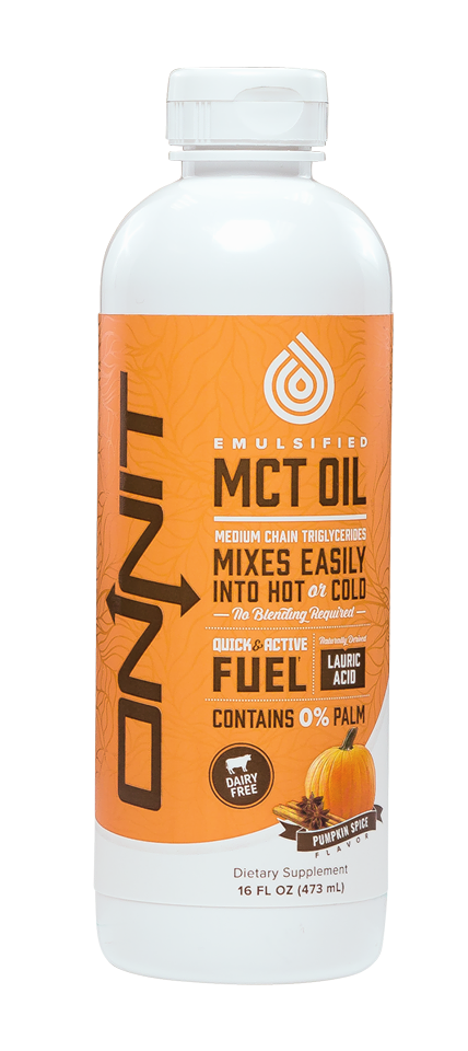 Onnit Pumpkin MCT Oil - Perfect for Hot and Cold Beverages