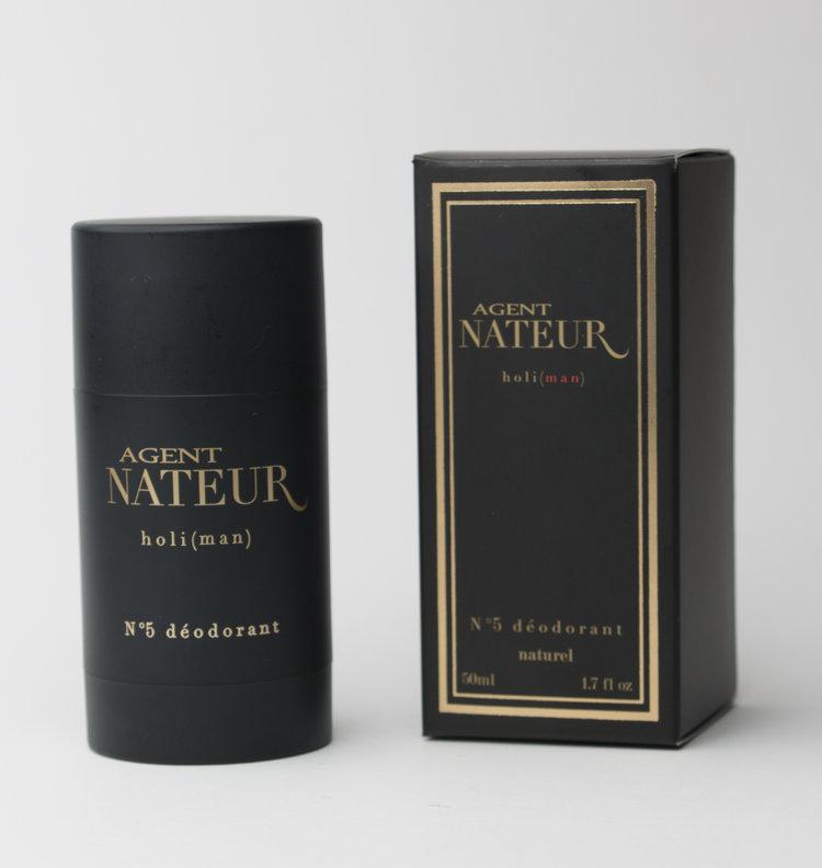 Best Natural Deodorant: Agent Nateur Unisex Aluminum Free Deodorant #naturalskincare #madeinUSA #usalovelisted