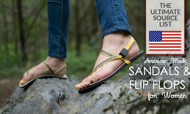 American Made Sandals and Flip Flops for Women: Our Ultimate Source List