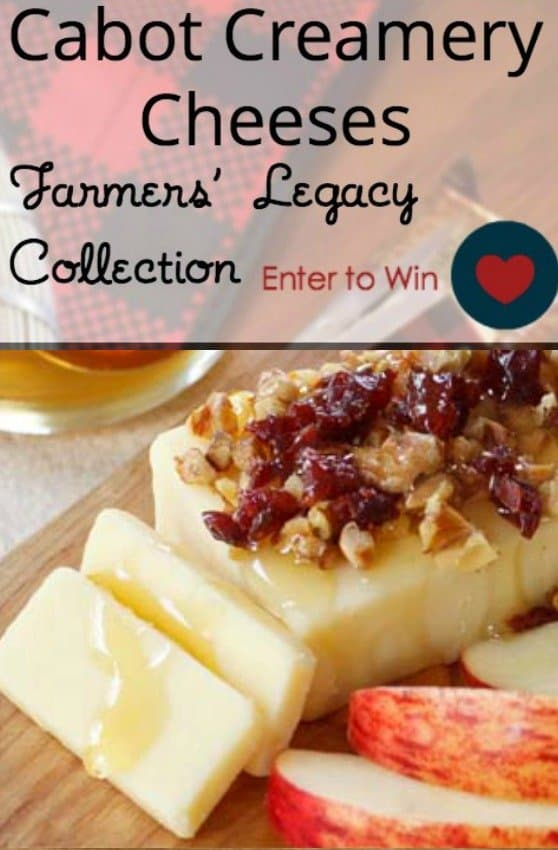 Cabot Cheese Giveaway on USA Love List